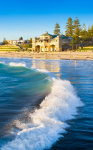 Breaking Wave at Cottesloe Beach