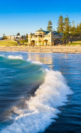 Breaking Wave at Cottesloe Beach Landscape Photography Print