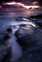 Burns Beach Dusk Landscape Photography Print