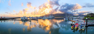 Cairns Marlin Marina at Sunrise Landscape Photography Print