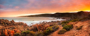 Cape Naturaliste Sunrise Landscape Photography Print