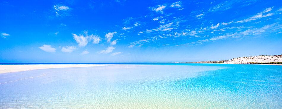 Coral Bay Beach Landscape Photography Print