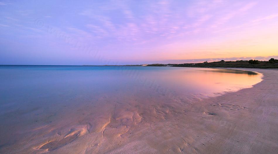 Coral Bay at Dawn Landscape Photography Print