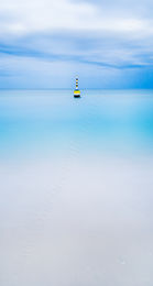 Cottesloe Beach Blues Landscape Photography Print