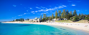 Cottesloe Beach Serenity Landscape Photography Print