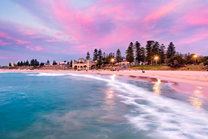Cottesloe Beach Sunset Landscape Photography Print