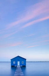Crawley Edge Boatshed 73 Landscape Photography Print