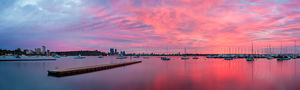 Crawley Sunrise at Matilda Bay Landscape Photography Print