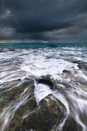 Ebb and Flow at North Cottesloe Beach Landscape Photography Print