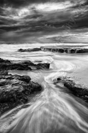Exposed Landscape Photography Print