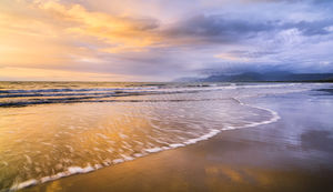 Four Mile Beach at Sunrise, Port Douglas Landscape Photography Print