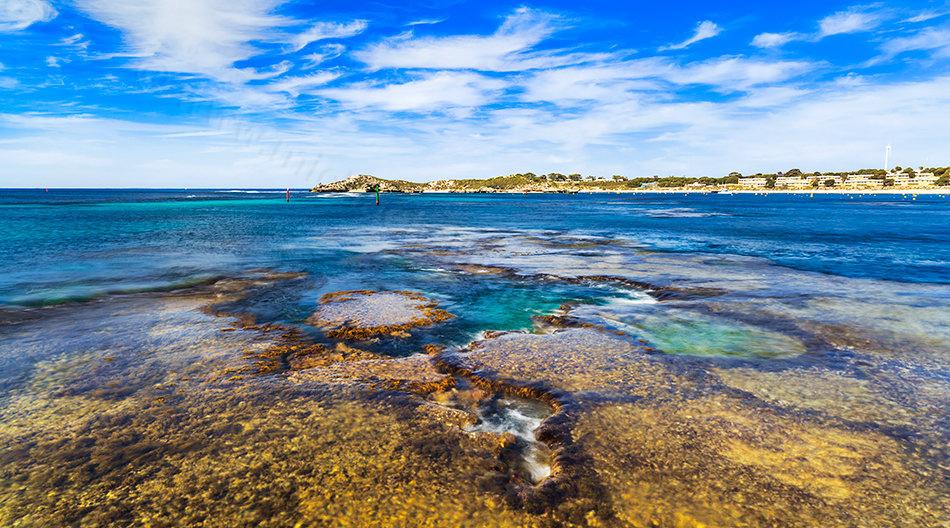 Geordie Bay, Rottnest Island Landscape Photography Print