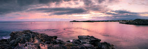 Geordie Bay Sunrise, Rottnest Island Landscape Photography Print