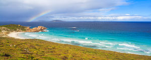 Great Ocean Drive Rainbow, Esperance Landscape Photography Print