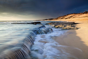 Incoming Tide at Two Rocks Landscape Photography Print