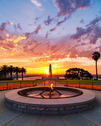 Kings Park Sunrise Landscape Photography Print