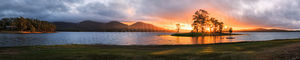Lake Tinaroo Sunrise Landscape Photography Print
