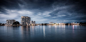 Mandurah at Dusk Landscape Photography Print