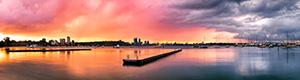 Matilda Bay Sunrise Landscape Photography Print