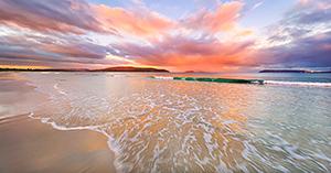 Middleton Beach Sunset, Albany Landscape Photography Print