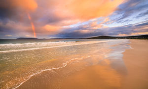 Middleton Beach Rainbow, Albany Landscape Photography Print