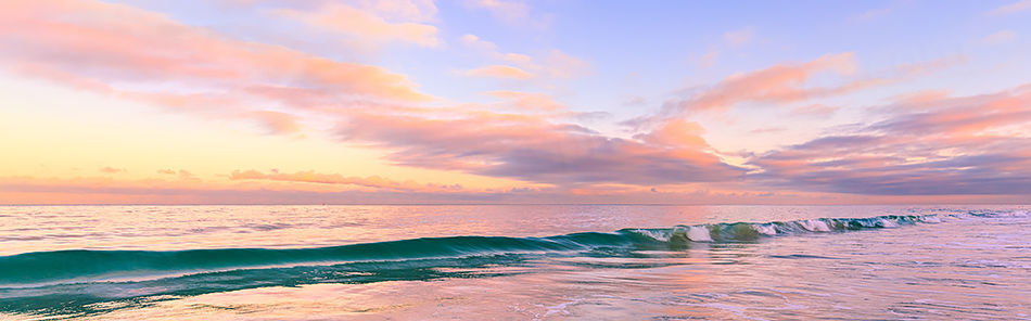 Perth Beach Sunrise Landscape Photography Print