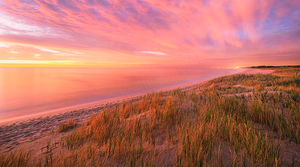 Perth Beach Sunset Landscape Photography Print