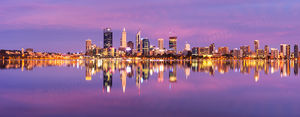 Perth Sunrise Landscape Photography Print