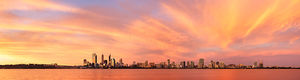 Perth Sunset Landscape Photography Print