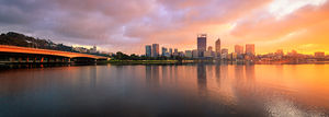 Perth at Sunrise Landscape Photography Print