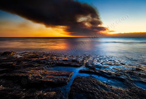 Point Peron Sunset Landscape Photography Print