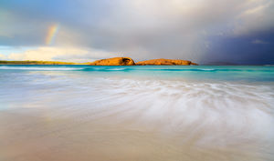 Rainbow over Twilight Cove, Esperance Landscape Photography Print