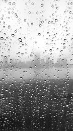 Raindrops Landscape Photography Print