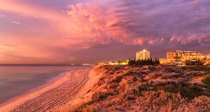 Scarborough Beach at Dusk Landscape Photography Print