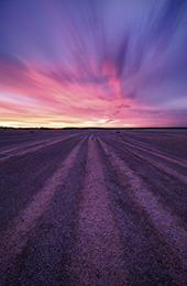 Shell Beach Sunset Landscape Photography Print