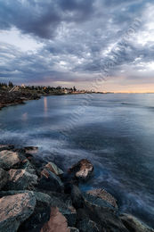South Cottesloe Reef at Dusk Landscape Photography Print