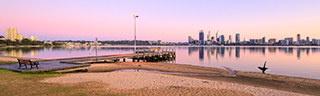 South Perth at Sunrise