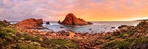 Sugarloaf Rock at Sunrise Landscape Photography Print