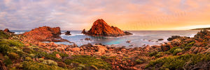 Sugarloaf Rock at Sunrise Landscape Photography Print
