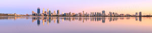 Summer Sunrise over Perth and the Swan River Landscape Photography Print