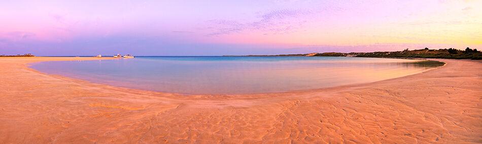 Sunrise at Coral Bay Landscape Photography Print