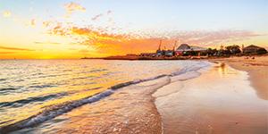 Sunset at Bathers Beach, Fremantle Landscape Photography Print