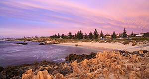 Sunset at Trigg Beach Landscape Photography Print