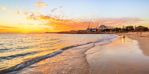 Sunset at Bathers Beach, Fremantle Landscape Photography Print