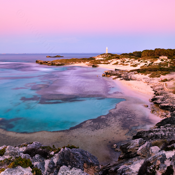 Sunset at the Basin, Rottnest Island Landscape Photography Print