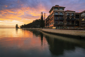 Sunset at the Old Swan Brewery Landscape Photography Print
