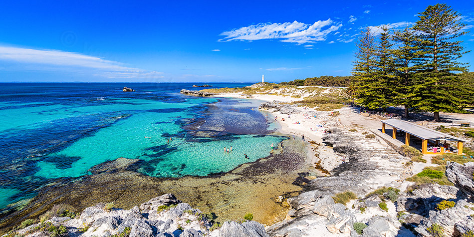 The Basin, Rottnest Island 2 Landscape Photography Print