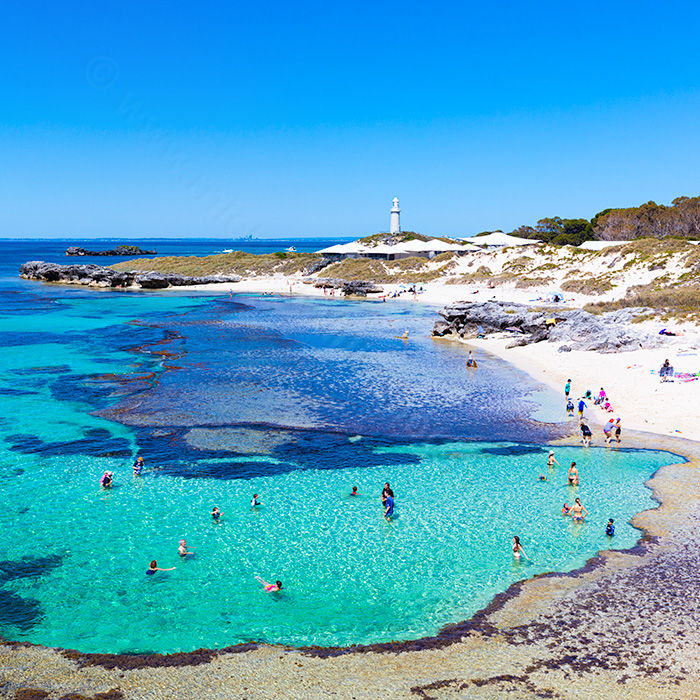 The Basin, Rottnest Island 3 Landscape Photography Print