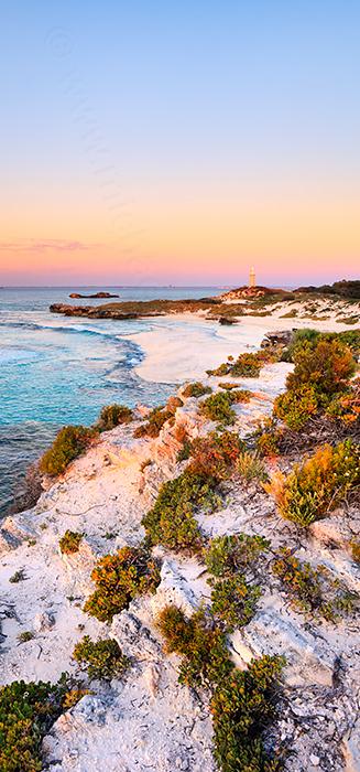 The Basin at Sunset, Rottnest Island Landscape Photography Print