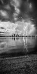 Thunderbolt Landscape Photography Print